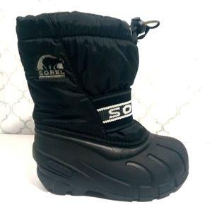 Sorel snow boots toddler boy size 9